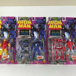 1994 Toy Biz Iron Man Action Figures 3 Pack